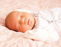 Adorable baby newborn Stock Photos