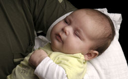 Adorable baby sleeping Stock Photography