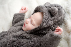 Adorable baby sleeping Royalty Free Stock Photos