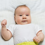 Adorable baby smiling Royalty Free Stock Photography