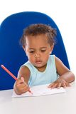 Adorable baby student Stock Image