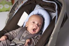 Adorable Baby Yawning Stock Photography