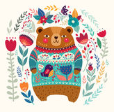 Adorable bear Royalty Free Stock Image