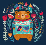 Adorable bear Royalty Free Stock Images