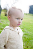 Adorable Blond Boy Royalty Free Stock Images