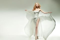 Adorable blonde posing Royalty Free Stock Image