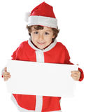 Adorable boy in christmas Royalty Free Stock Image