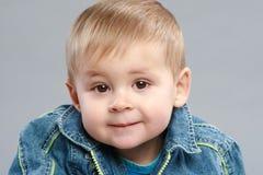 Adorable boy close-up portrait Royalty Free Stock Image