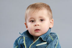 Adorable boy close-up portrait Royalty Free Stock Photography