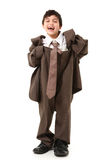 Adorable Boy In Suit Royalty Free Stock Images