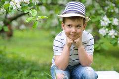 Adorable boy Royalty Free Stock Photography