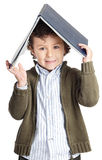 Adorable Boy Reading A Book Royalty Free Stock Images