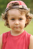 Adorable boy sad Royalty Free Stock Photos