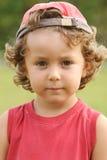 Adorable boy sad Royalty Free Stock Photos