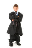 Adorable Boy in Suit Royalty Free Stock Photos