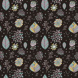 Adorable cartoon seamless pattern Royalty Free Stock Images