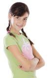 Adorable casual girl Stock Photography