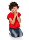 Adorable caucasian girl Stock Photo