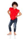 Adorable caucasian girl Royalty Free Stock Photos