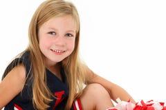 Adorable Cheerleader Stock Photos