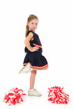 Adorable Cheerleader Stock Photos