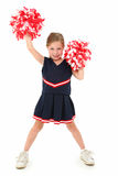 Adorable Cheerleader Royalty Free Stock Photos