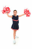 Adorable Cheerleader Royalty Free Stock Photo