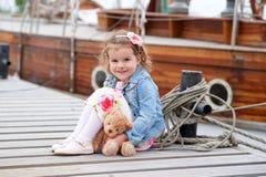 Adorable, chica joven Imagen de archivo