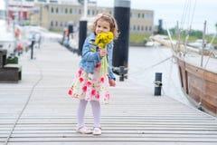 Adorable, chica joven Fotografía de archivo libre de regalías