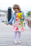 Adorable, chica joven Foto de archivo
