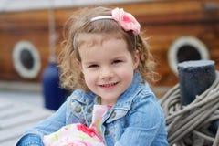 Adorable, chica joven Foto de archivo libre de regalías