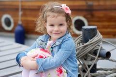 Adorable, chica joven Imágenes de archivo libres de regalías