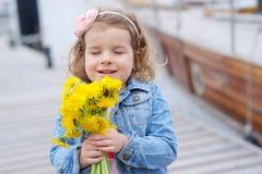 Adorable, chica joven Fotografía de archivo