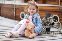 Adorable, chica joven Fotos de archivo