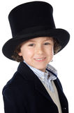 Adorable child with hat Royalty Free Stock Photography