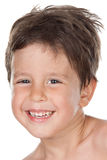 Adorable child smiling Royalty Free Stock Images