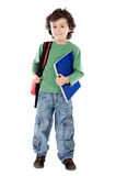 Adorable child student Stock Photography