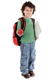 Adorable child student Stock Photo