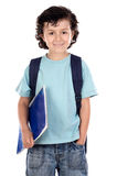 Adorable child student Stock Images