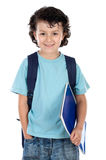 Adorable child student Royalty Free Stock Image