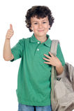 Adorable child student Stock Image