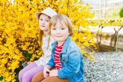 Adorable children Royalty Free Stock Photo