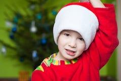 Adorable Christmas boy Royalty Free Stock Image