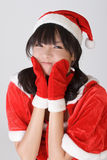 Adorable Christmas girl Stock Photography