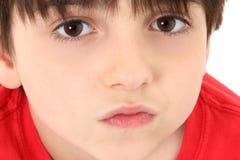 Adorable Close-up Boy Stock Photos