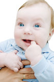 Adorable curious boy Royalty Free Stock Images
