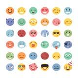 Adorable emoticon design Royalty Free Stock Photos