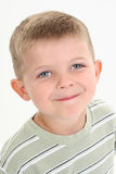 Adorable Four Year Old Caucasian Boy stock images