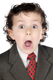 Adorable future businessman Royalty Free Stock Images