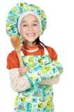 Adorable future cook Stock Photo